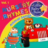 Animal Songs and Nursery Rhymes for Children Vol. 1 - Fun Songs for Learning with LittleBabyBum