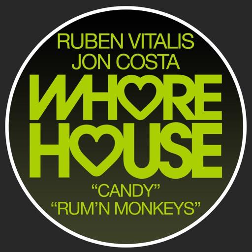 Candy / Rum'N Monkeys - Single by Ruben Vitalis & Jon Costa