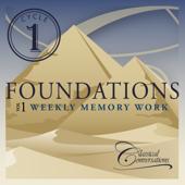 Foundations Cycle 1, Vol. 1 - Weekly Memory Work