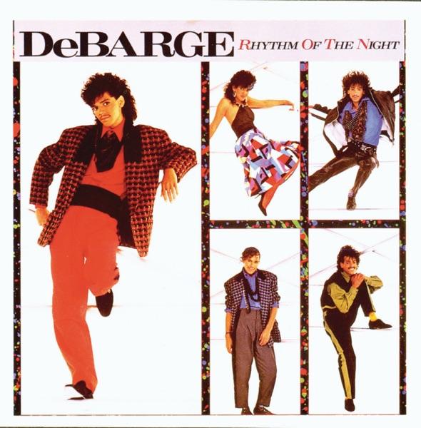 DeBarge mit Rhythm of the Night