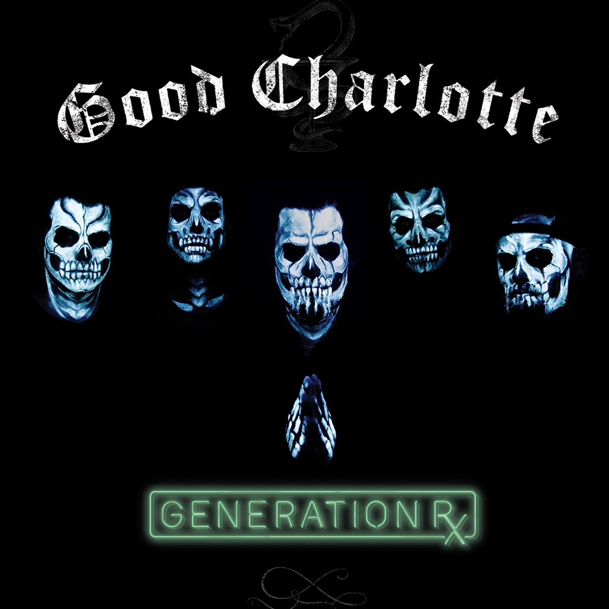 Generation Rx Good Charlotte CD cover