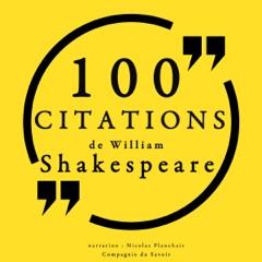 100 citations de William Shakespeare