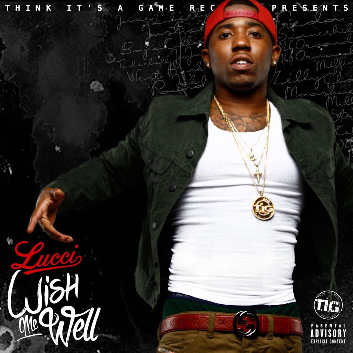 Wish Me Well YFN Lucci CD cover