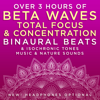 Binaural Beats Research & David & Steve Gordon - Over 3 Hours of Beta Waves Total Focus & Concentration Binaural Beats & Isochronic Tones Music & Nature Sounds