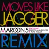 Moves Like Jagger feat Christina Aguilera Mac Miller Remix Single