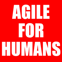 Podcast cover art for Agile for Humans with Ryan Ripley