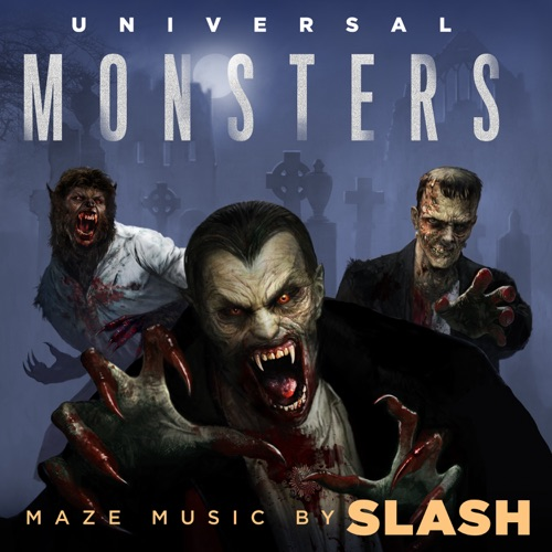 Slash - Universal Monsters Maze: Halloween Horror Nights 2018 (Original Soundtrack)