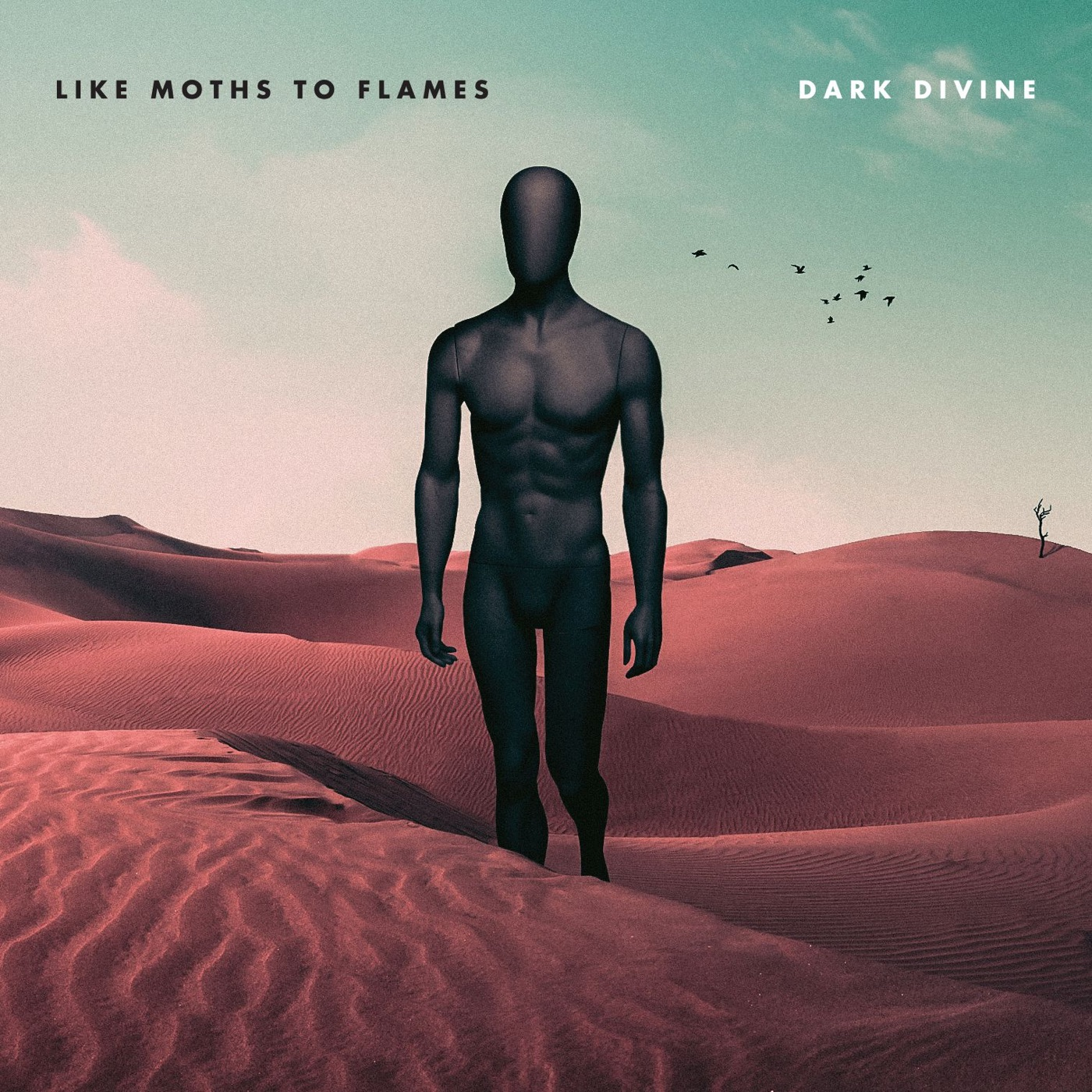 Like Moths to Flames - Dark Divine [single] (2017)