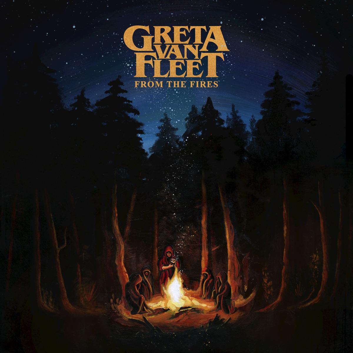 From the Fires Greta Van Fleet CD cover