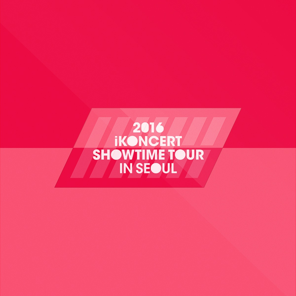 2016 iKON iKONCERT SHOWTIME TOUR IN SEOUL LIVE Album Cover