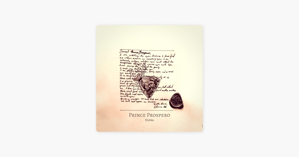 ‎Prince Prospero - Single by Elena on iTunes
