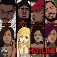 Hotline (feat. Jayway Sosa, DaBaby & IV Montana) - Single Mp3 Download