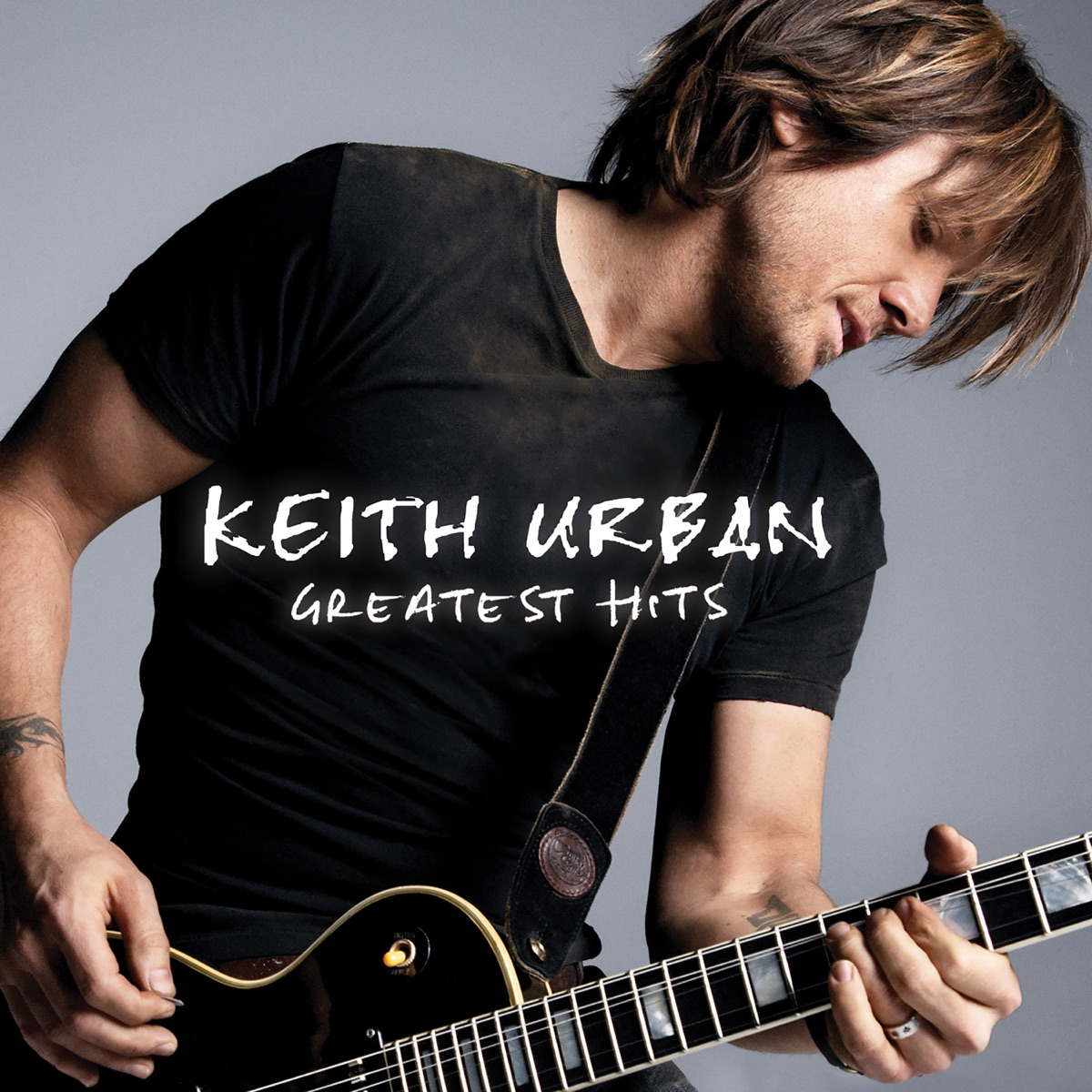 Greatest Hits Keith Urban CD cover