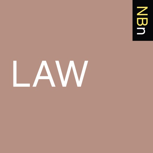 Cover image of New Books in Law