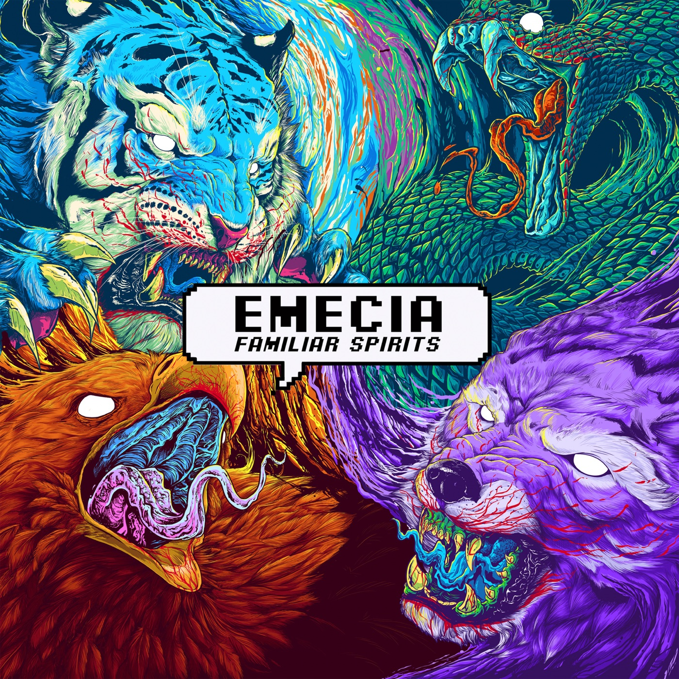 Emecia - Familiar Spirits (2018)