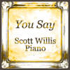 Scott Willis Piano - You Say artwork