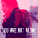 You Are Not Alone - Kat Perkins