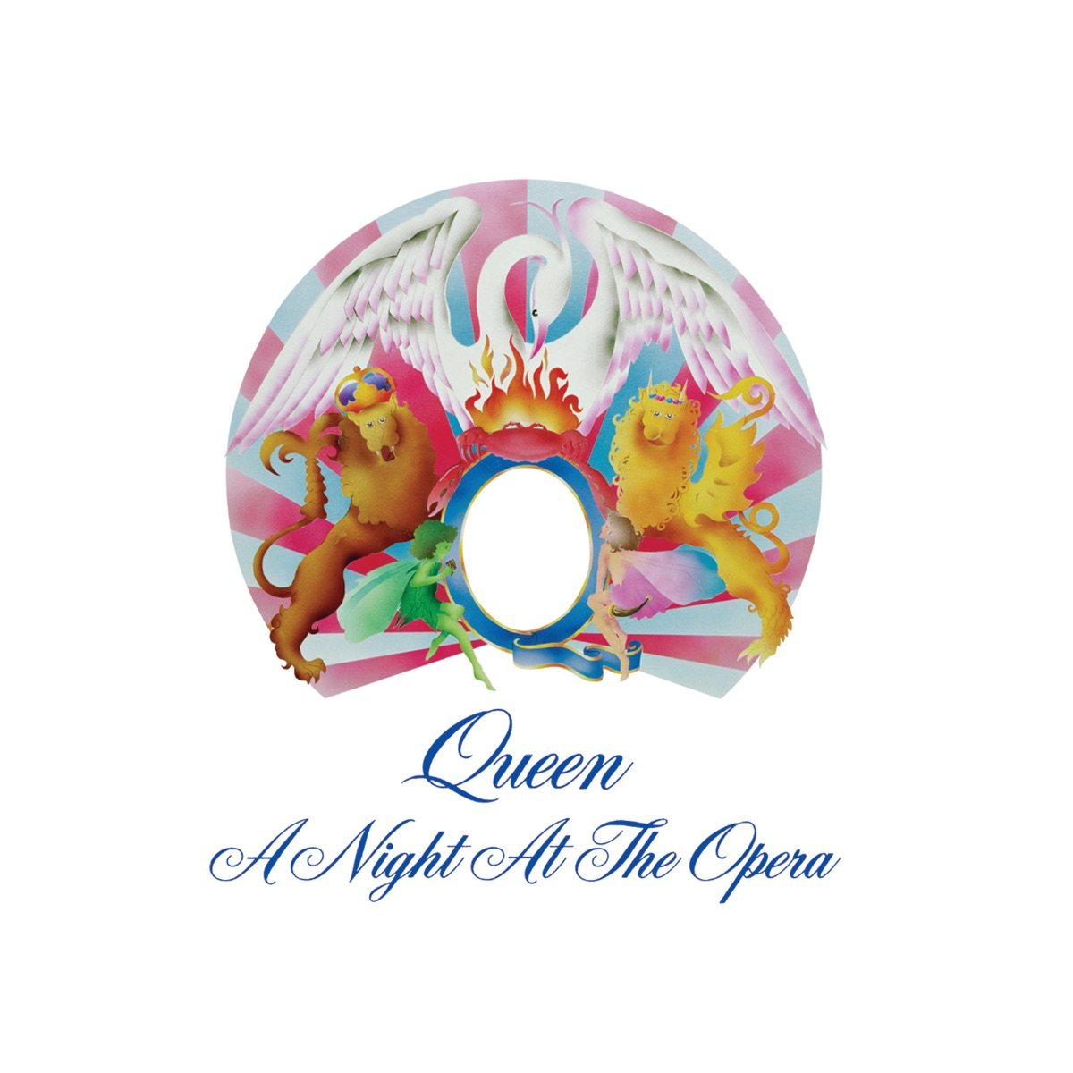 A Night at the Opera Deluxe Edition Queen CD cover