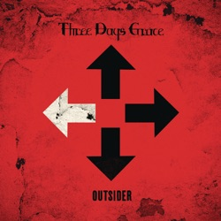 Outsider - Three Days Grace Album Cover
