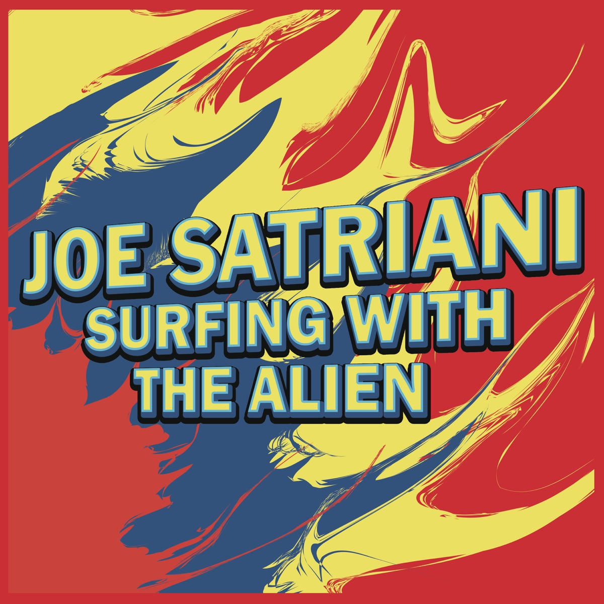 Surfing With the Alien Joe Satriani CD cover