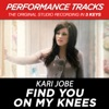 Icon Find You on My Knees (Performance Tracks) - EP