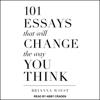 Brianna Wiest - 101 Essays That Will Change the Way You Think (Unabridged)  artwork