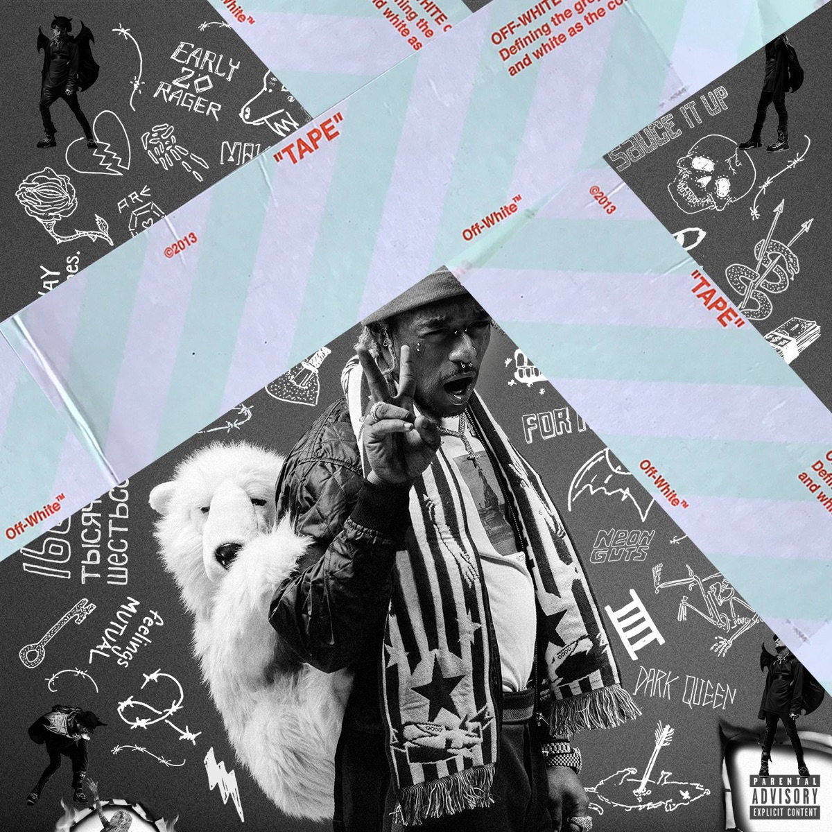 Luv Is Rage 2 Lil Uzi Vert CD cover