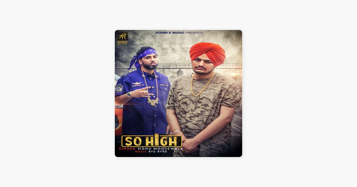So High - Single by Sidhu Moose Wala
