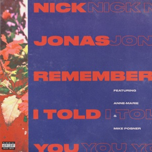 Nick Jonas - Remember I Told You feat. Anne-Marie & Mike Posner