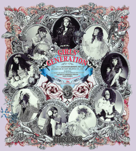 Girls' Generation - The Boys - The 3rd Album