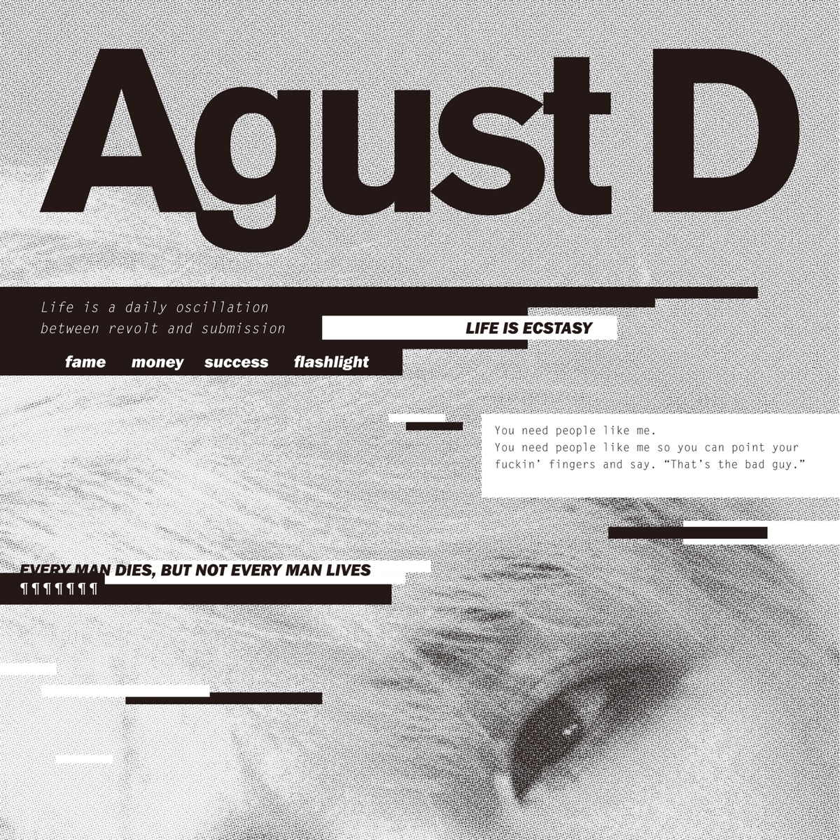 Agust D Agust D CD cover