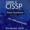 Phil Martin - Simple CISSP Exam Questions (Unabridged)  artwork