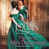 Julia Quinn - Because of Miss Bridgerton  artwork
