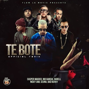 Te Boté (Remix) [feat. Darell, Nicky Jam & Ozuna] - Single Mp3 Download