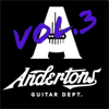 Andertons TV - Guitar Jam Tracks, Vol. 3  artwork