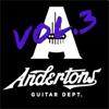 Andertons TV - Guitar Jam Tracks, Vol. 3  artwork