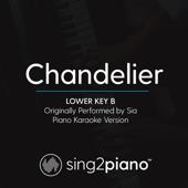 Chandelier (Lower Key B) Originally Performed by Sia] [Piano Karaoke Version]