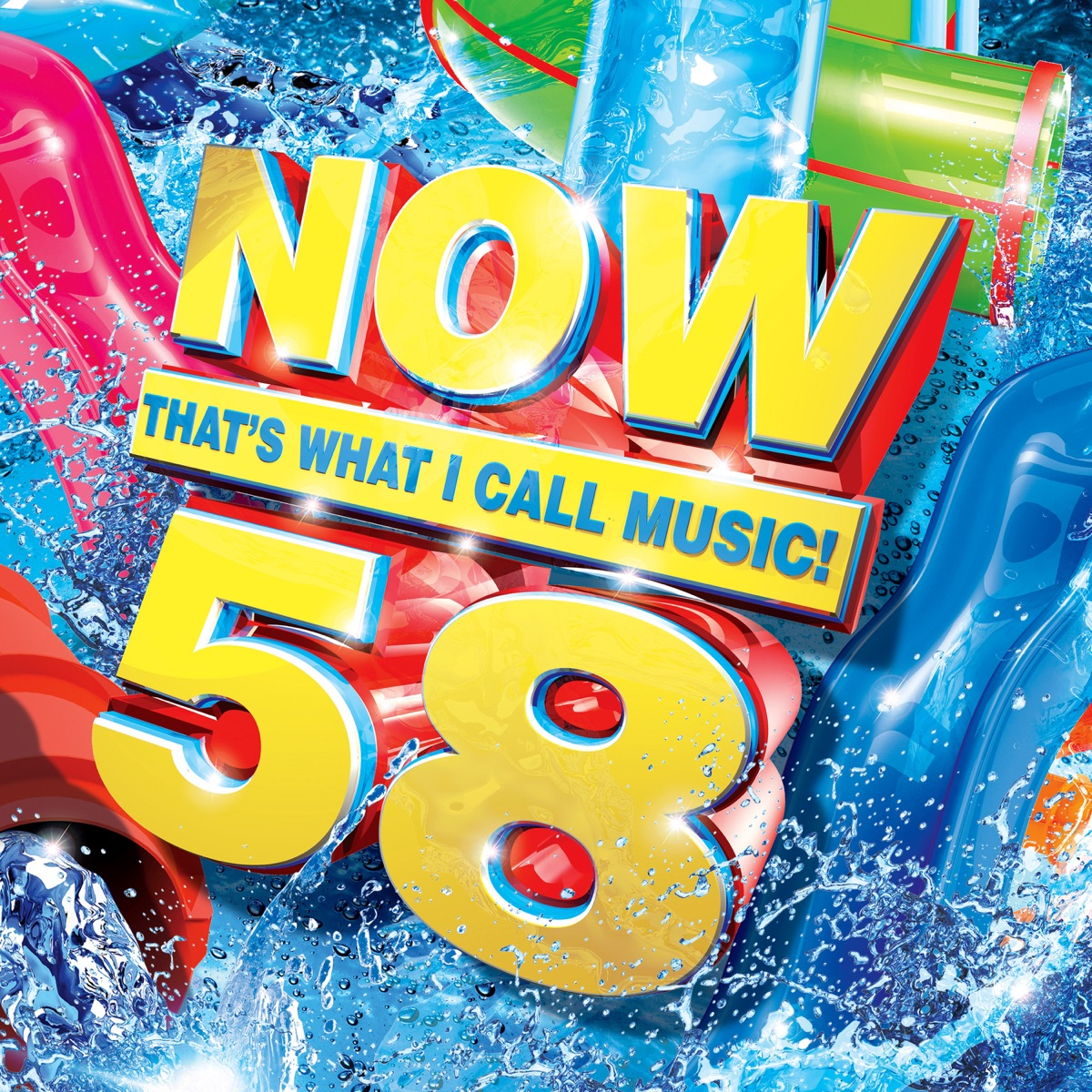 NOW Thats What I Call Music Vol 58 Various Artists CD cover
