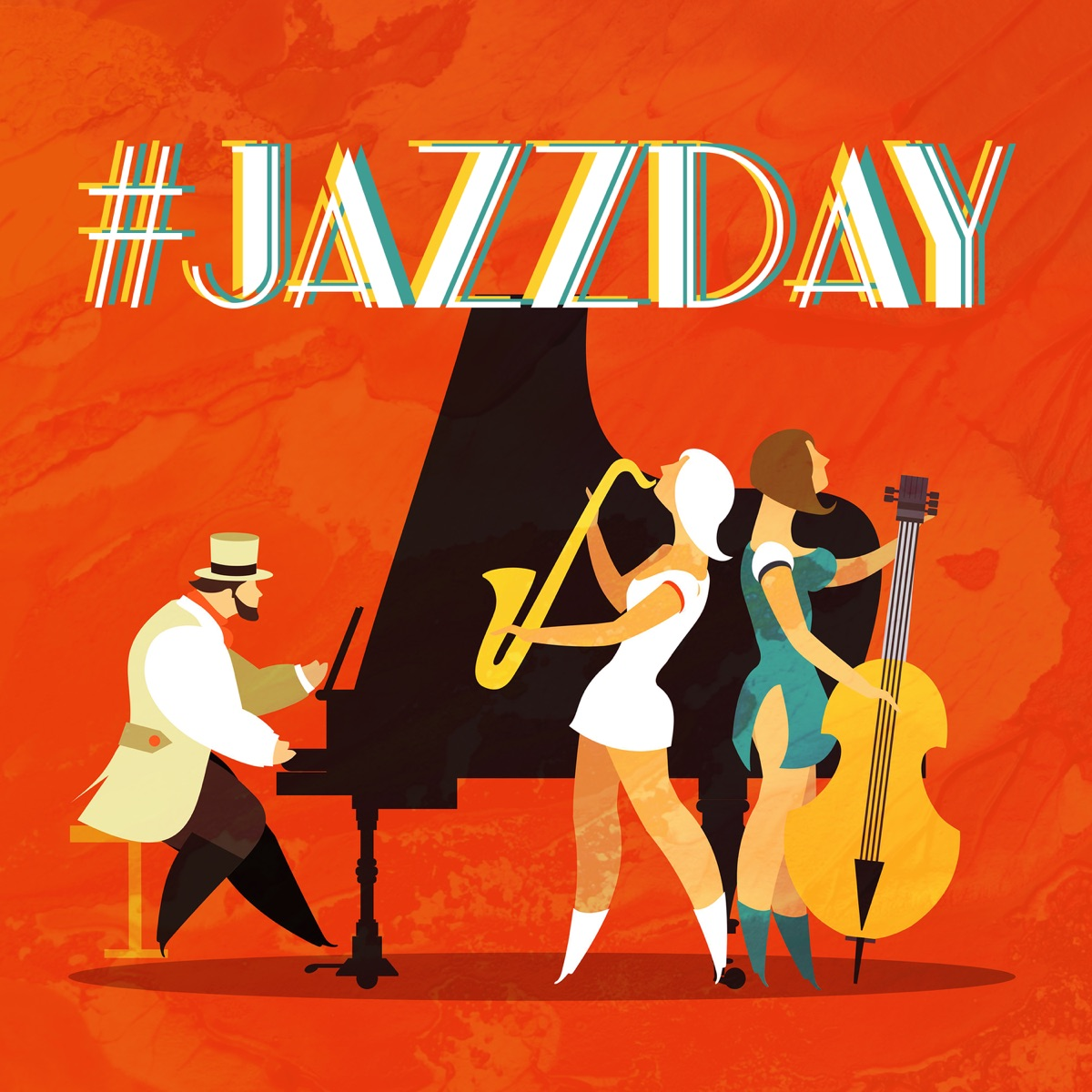 JazzDay: 50 Special Selected Instrumental Jazz Music for