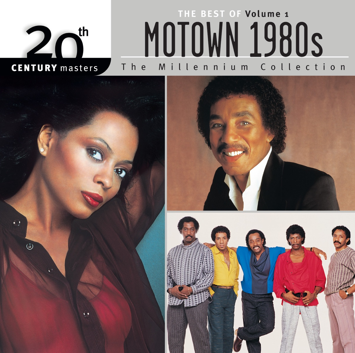 20th Century Masters - The Millennium Collection The Best of Motown 80s Vol 1 Various Artists CD cover