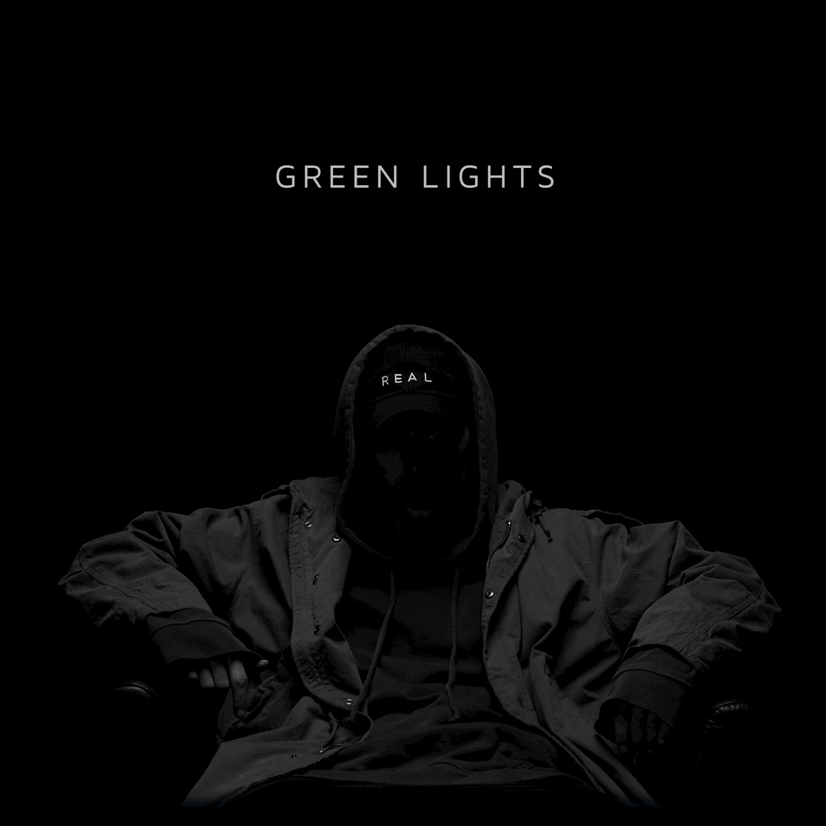 Green Lights - Single NF CD cover