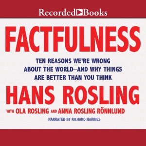 Factfulness: Ten Reasons We're Wrong About the World - and Why Things Are Better Than You Think (Unabridged) - Hans Rosling, Anna Rosling Rönnlund & Ola Rosling audiobook, mp3