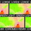 Lorde - Green Light (Chromeo Remix) ilustración