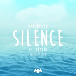 View album Marshmello - Silence (feat. Khalid) [Blonde Remix] - Single
