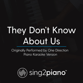 They Don't Know About Us (Originally Performed by One Direction) [Piano Karaoke Version]