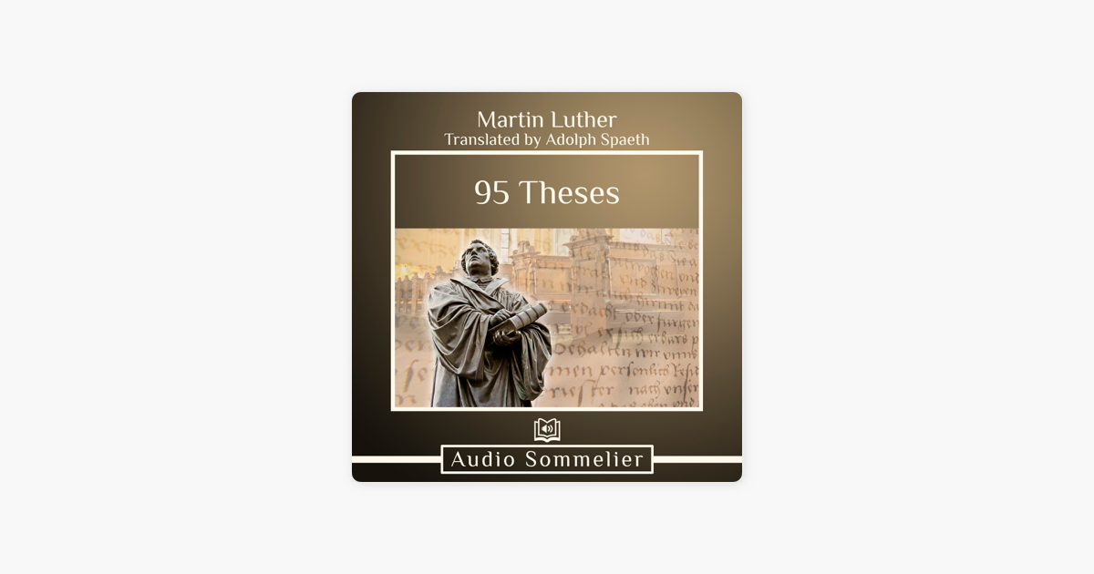 95 Theses On Apple Books