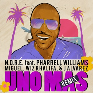 Uno Más (Remix) [feat. Pharrell Williams, Wiz Khalifa, Miguel & J Alvarez] - Single Mp3 Download