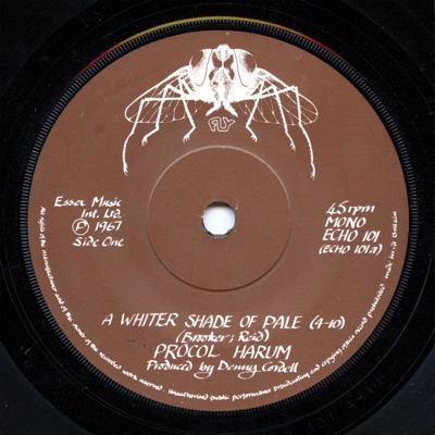 A Whiter Shade of Pale - Single - Procol Harum