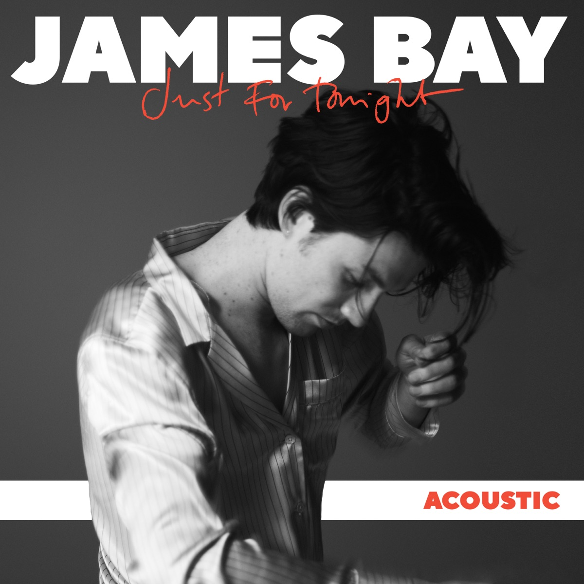 Just for Tonight Acoustic - Single James Bay CD cover