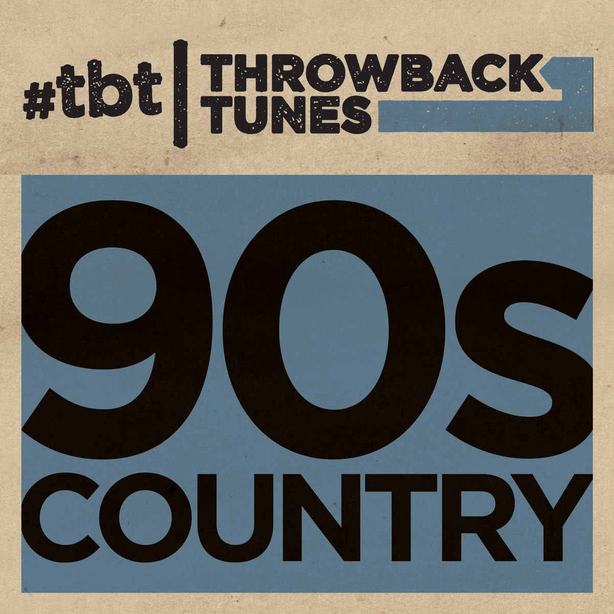 Throwback Tunes 90s Country Various Artists CD cover